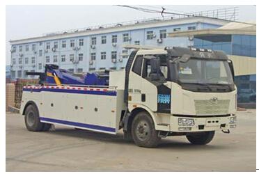 程力威牌CLW5160TQZC4型清障车