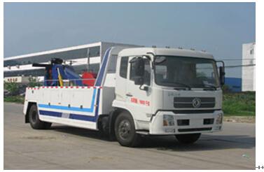 程力威牌CLW5160TQZD4型清障车