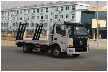 程力威牌CLW5040TPB4型平板运输车
