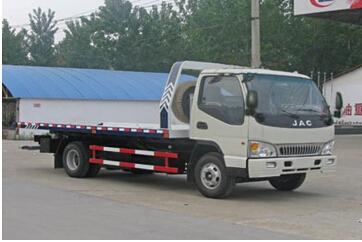 程力威牌CLW5081TQZ4型清障车