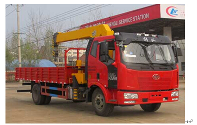 程力威牌CLW5162JSQC4型随车起重运输车