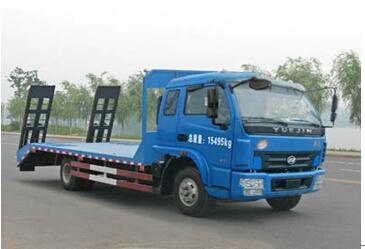 程力威牌CLW5150TPBN4型平板运输车