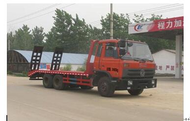 程力威牌CLW5250TPBT4型平板运输车
