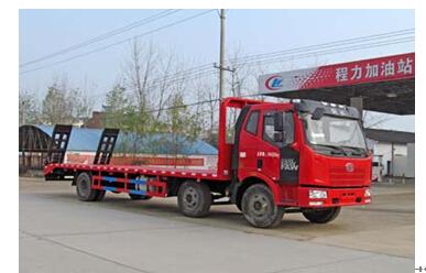 程力威牌CLW5252TPBC4型平板运输车