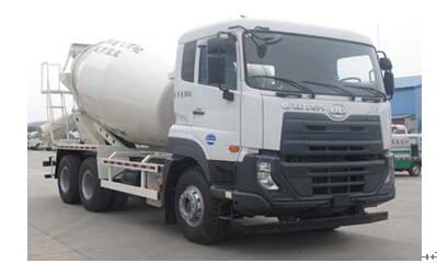 程力威牌CLW5250GJBDN型混凝土搅拌运输车