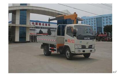程力威牌CLW5041JSQ4型随车起重运输车