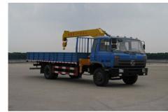 程力威牌CLW5160JSQT4型随车起重运输车