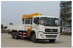 程力威牌CLW5250JSQD4型随车起重运输车