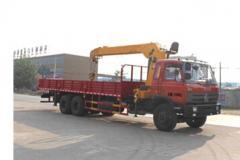程力威牌CLW5250JSQT4型随车起重运输车