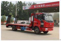 程力威牌CLW5161TPBC4型平板运输车