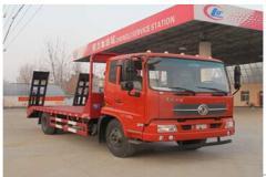 程力威牌CLW5163TPBD4型平板运输车