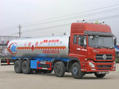 程力威牌CLW5315GYQ型液化气体运输车