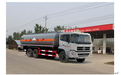 程力威牌CLW5251GFWD4型腐蚀性物品罐式运输车