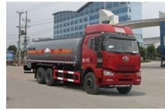 程力威牌CLW5250GFWC4型腐蚀性物品罐式运输车