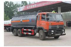 程力威牌CLW5250GFWT4型腐蚀性物品罐式运输车