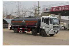 程力威牌CLW5253GFWD4型腐蚀性物品罐式运输车