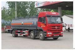 程力威牌CLW5256GFWC4型腐蚀性物品罐式运输车