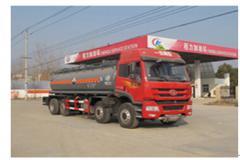 程力威牌CLW5314GFWC4型腐蚀性物品罐式运输车