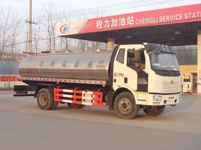 程力威牌CLW5160GNYC4型鲜奶运输车