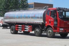 程力威牌CLW5250GNYC4型鲜奶运输车