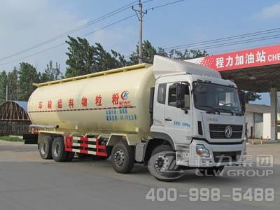 CLW5310GFLD4型低密度粉粒物料运输车