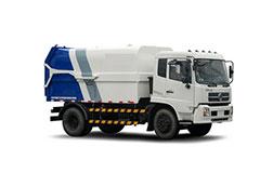 长安国五密封自卸式垃圾车