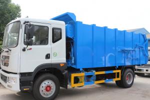 东风多利卡D9(12方)CLW5160ZDJD5对接式垃圾车车型