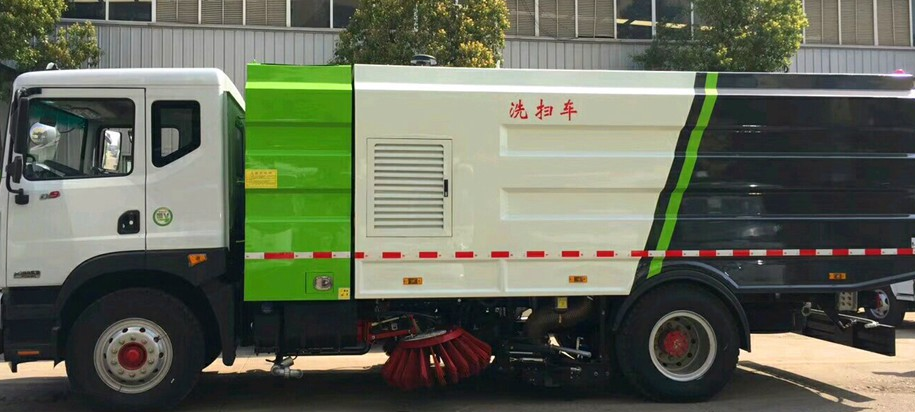 东风D9十方洗扫车