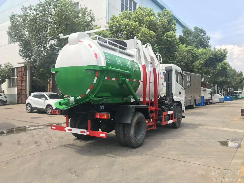 东风御虎9.5吨餐厨垃圾车