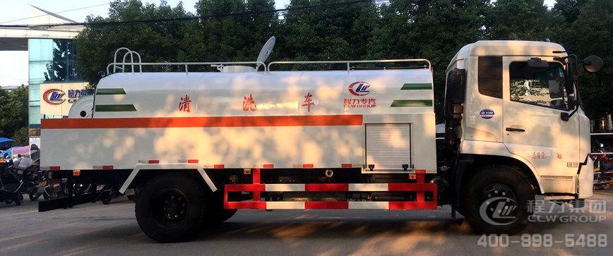 东风天锦CLW5164GQXD5高压清洗车