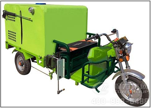 小型电动冲洗车