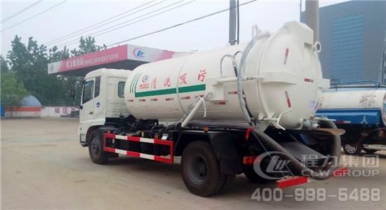 厂家直销东风天锦12方吸污车