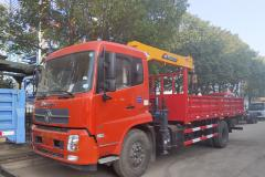 6.3吨随车起重运输车