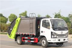东风小多利卡国六6方压缩式垃圾车