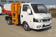 国六东风途逸3方挂桶垃圾车CLW5030ZZZD6